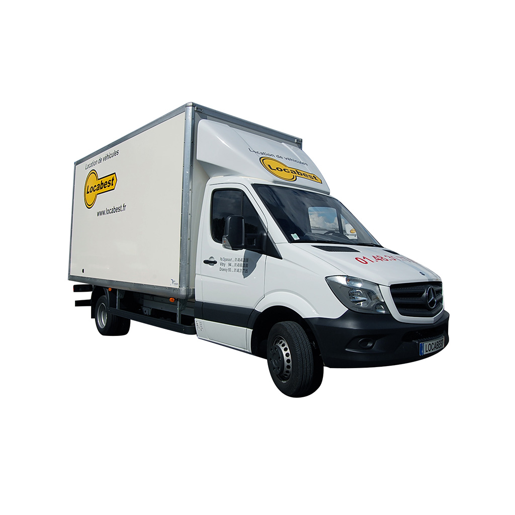 location v hicule utilitaire 20m3 mercedes sprinter locabest. Black Bedroom Furniture Sets. Home Design Ideas